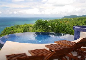 Infinity Pool at Anamaya Yoga Retreat Center